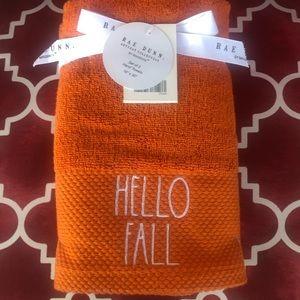 HELLO FALL 🧡Rae Dunn Hand Towels